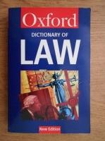 Elizabeth A. Martin - A dictionary of law
