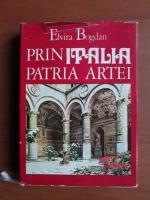 Anticariat: Elvira Bogdan - Prin Italia, patria artei
