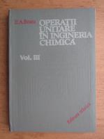 Em. A. Bratu - Operatii unitare in ingineria chimica (volumul 3)