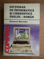 Emanuel Merealbe - Dictionar de informatica si cibernetica englez-roman