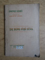 Emerich Szabo - Die burg von Deva (1910)