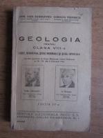 Emil Alex Sanielevici - Geologia pentru clasa a VIII-a (1947)