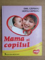 Emil Capraru, Herta Capraru - Mama si copilul