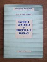 Anticariat: Emil Cernea - Istoria statului si dreptului roman (volumul 1)