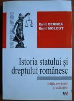 Emil Cernea - Istoria statului si dreptului romanesc