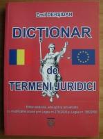 Anticariat: Emil Dersidan - Dictionar de termeni juridici uzuali