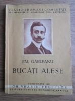 Anticariat: Emil Garleanu - Bucati alese (editie veche)