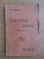 Anticariat: Emil Garleanu - Cea d'intai durere (1920)