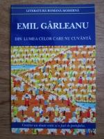 Emil Garleanu - Din lumea celor care nu cuvanta