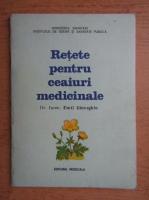 Anticariat: Emil Gheorghiu - Retete pentru ceaiuri medicinale