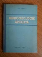 Emil Liteanu - Hidrogeologie aplicata