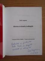 Emil Lungeanu - Tacerea revazuta si adaugita (cu autograful autorului)