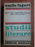 Anticariat: Emile Faguet - Studii literare
