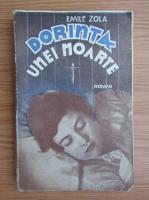 Emile Zola - Dorinta unei moarte