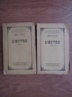 Anticariat: Emile Zola - L'Oeuvre (2 volume)