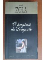 Emile Zola - O pagina de dragoste (2006)