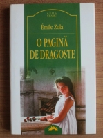 Emile Zola - O pagina de dragoste (Leda Clasic)