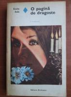Emile Zola - O pagina de dragoste