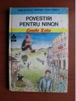 Anticariat: Emile Zola - Povestiri pentru Ninon