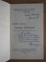 Anticariat: Emilia Iercosan - Scriitori tarani (cu autograful autoarei)