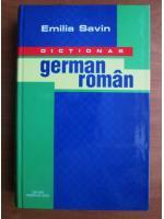 Anticariat: Emilia Savin - Dictionar German-Roman