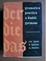 Emilia Savin - Gramatica practica a limbii germane