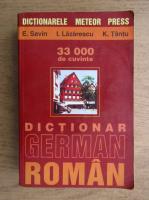 Emilia Savin, Ioan Lazarescu, Katharina Tantu - Dictionar german-roman