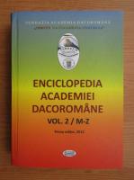 Enciclopedia Academiei Dacoromane, volumul 2, M-Z