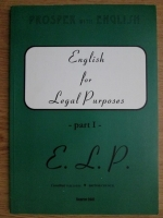 English for legal purposes, part I