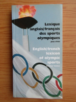 Anticariat: English/french lexicon of olympic sports