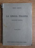 Enzo Loreti - La lingua italiana