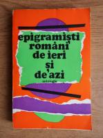 Epigramisti romani de ieri si de azi
