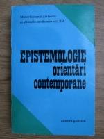Anticariat: Epistemologie, orientari contemporane
