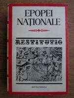 Anticariat: Epopei nationale