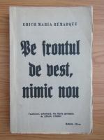 Erich Maria Remarque - Pe frontul de vest, nimic nou (1927)