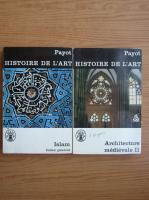 Anticariat: Ernst Diez - Histoire de l'art (volumele 10 si 20)