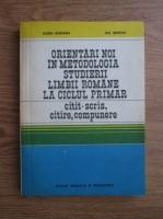 Eugen Blideanu, Ion Serdean - Orientari noi in metodologica studierii limbii romane la ciclul primar
