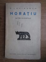 Anticariat: Eugen Lovinescu - Horatiu (1940)