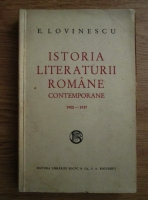 Eugen Lovinescu - Istoria literaturii romane contemporane 1900-1937 (1937)