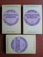 Eugen Lovinescu - Istoria literaturii romane contemporane (3 volume)