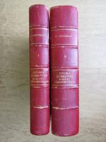 Eugen Lovinescu - Istoria literaturii romane contemporane (4 volume coligate, 1926)