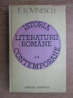Eugen Lovinescu - Istoria literaturii romane contemporane (volumul 2)
