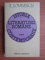 Eugen Lovinescu - Istoria literaturii romane contemporane (volumul 3)