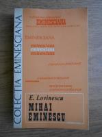 Eugen Lovinescu - Mihai Eminescu
