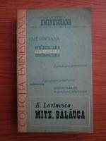 Anticariat: Eugen Lovinescu - Mite. Balauca