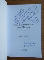 Anticariat: Eugen Petrescu - Valcea-Tara lupilor getici sau tinutul valcilor (2 volume, cu autograful autorului)