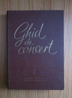 Eugen Pricope - Ghid de concert