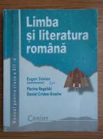 Anticariat: Eugen Simion - Limba si literatura romana. Manual pentru clasa a XII-a