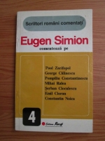 Anticariat: Eugen Simion - Scriitori romani comentati. Eugen Simion