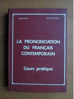 Eugen Tanase - La prononciation du francais contemporain